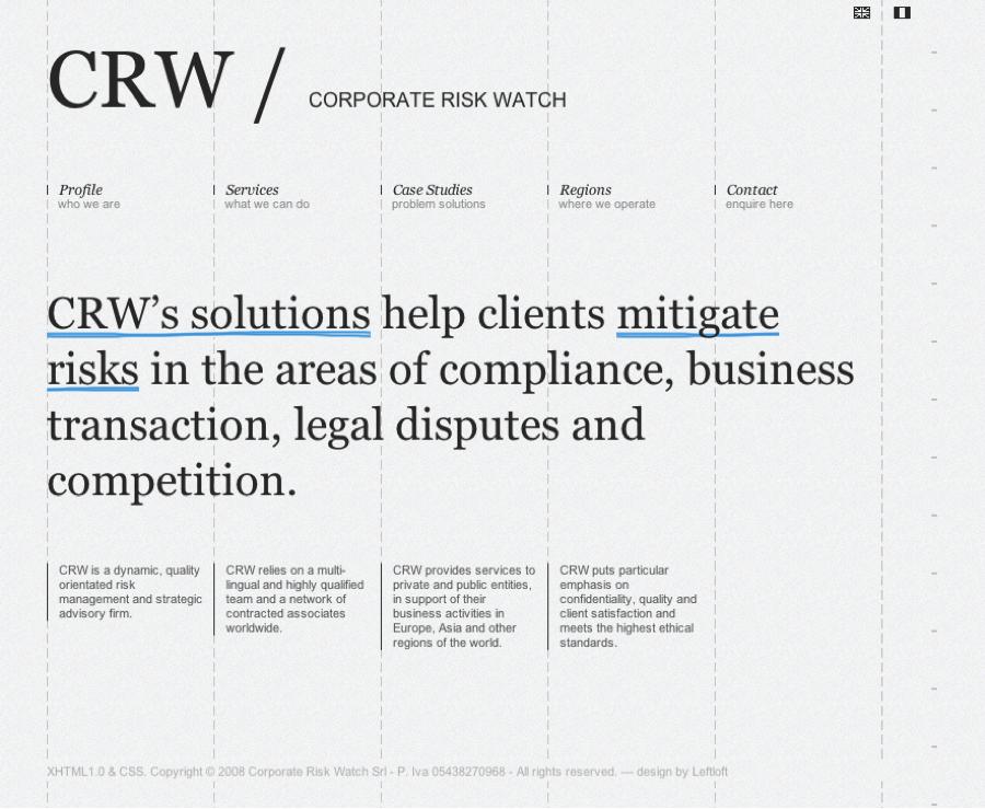 CorporateRiskWatch