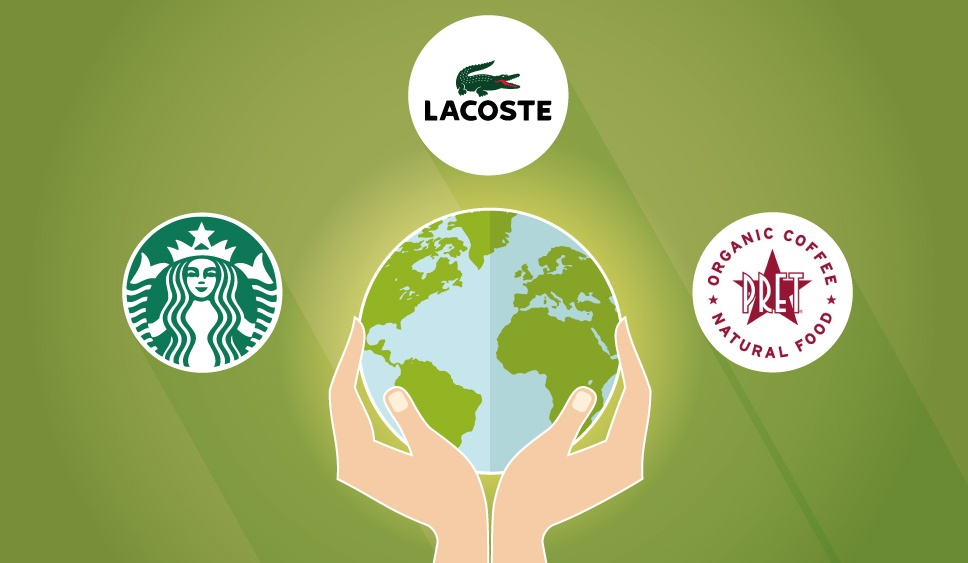 How Lacoste, Starbucks and Pret are aligning their brands with social responsibility