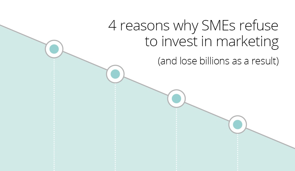 4 reasons SMEs do not invest in marketing