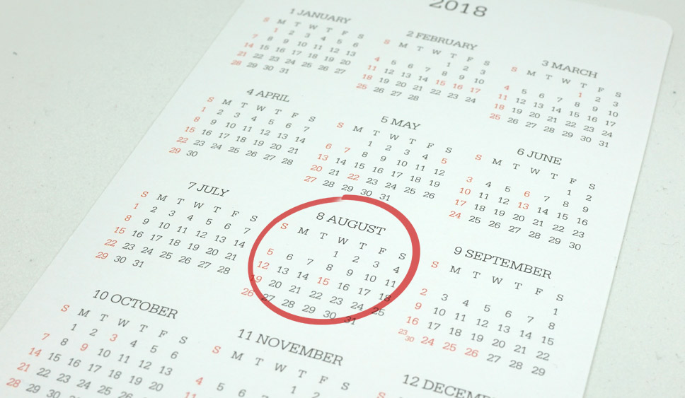 Leads, sales and how to do marketing in August