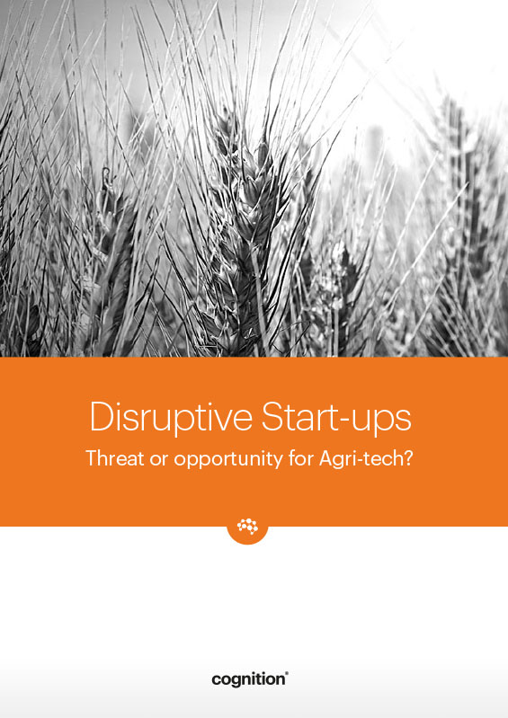 Sector Focus: Agri-Tech Disruptive Start-Ups: Threat or Opportunity