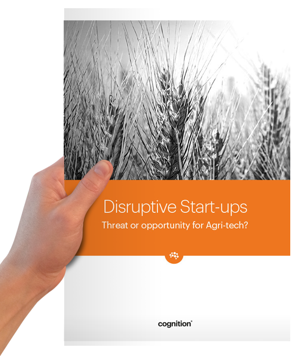 Are disruptive start-ups a threat or opportunity for Agri-Tech?