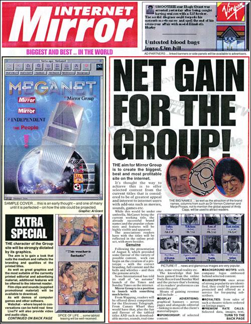 Mirror Group Newspapers - MegaNet