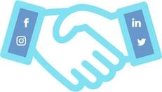 social handshake