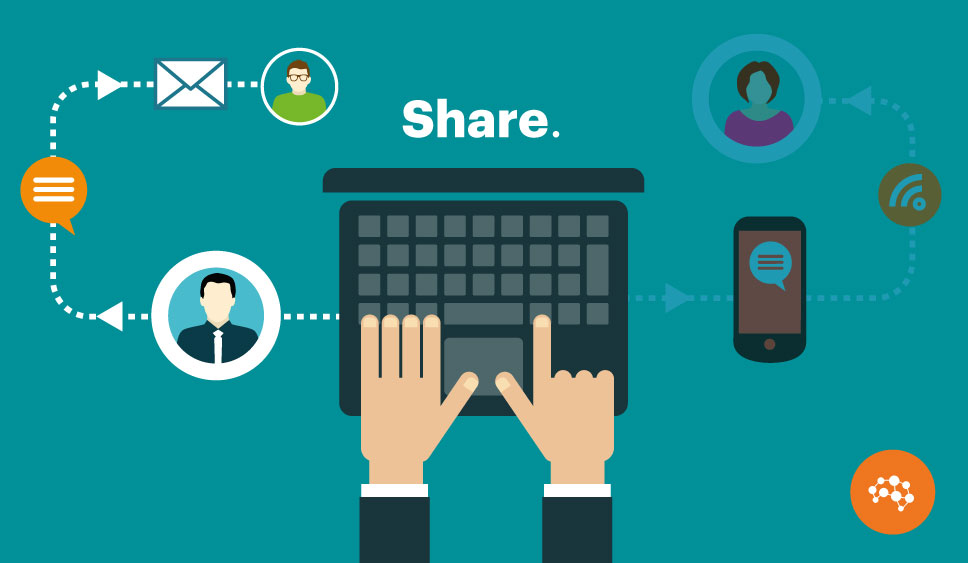 Creating content to get shared