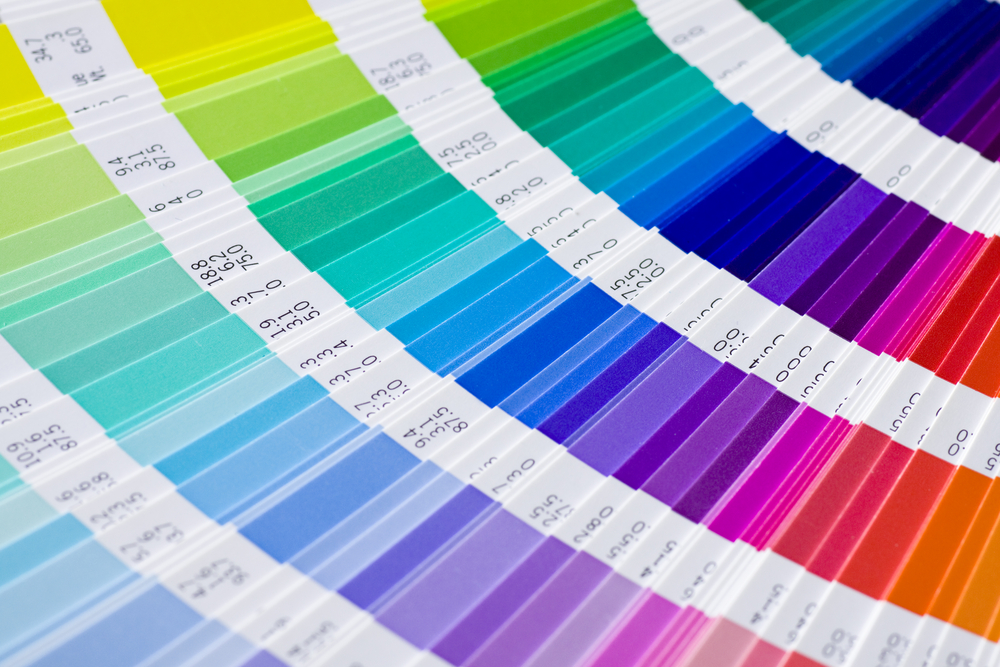 Choosing the colours for a brand